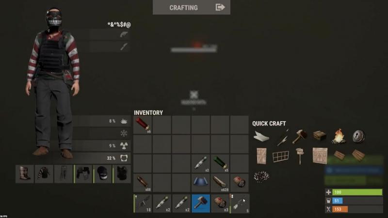 [MonarhisT] Rust выбил решетку , Нашел ТОП ЛУТ Рейды без затрат на официальном сервере !