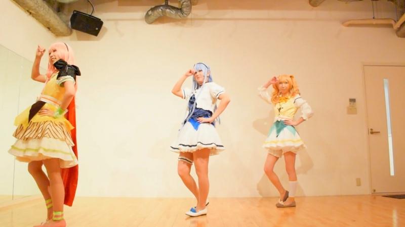 【アイ★チュウコス】Girls 踊ってみた【POPN STAR】 sm32997154