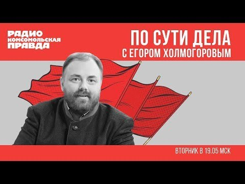 Егор Холмогоров. По сути дела.