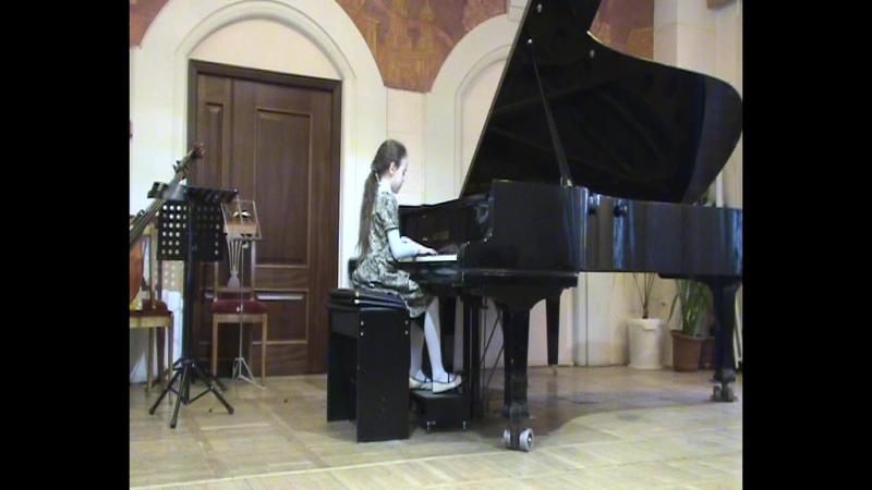 Анна Маракуева - Ф. Шопен Sostenuto