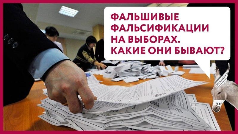 Фальшивые фальсификации на выборах. Какие они бывают? | Уши Машут Ослом 34 (О. Матвейчев)