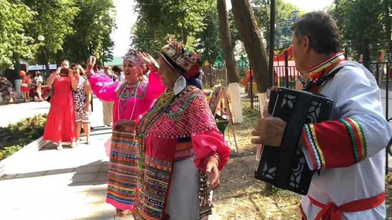 Фестиваль национальной русской мордовской и татарской кухни городской парк
