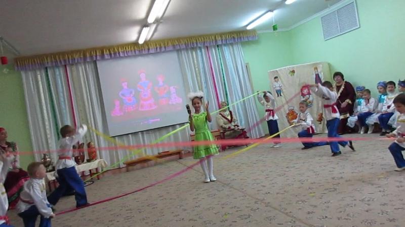 MVI 1515Мастер класс Русский сувенир в 95 детском саду г Омска