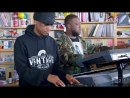 August Greene Common Robert Glasper Karriem Riggins NPR Music Tiny Desk Con