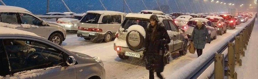 Репортаж из Instagram: Снегопад во Владивостоке