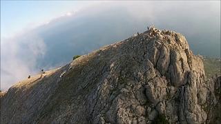 Полет над горой Ильяс - Кая в Крыму 20 июля 2018