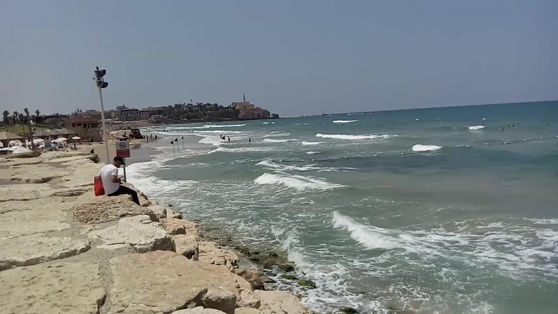 Средиземное море. Тель-авив.
