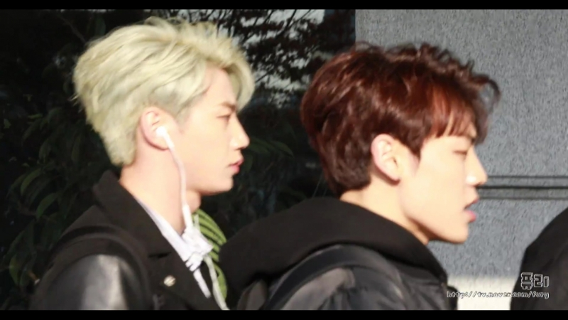 22 02 2018 Fancam Jun U KISS on the way Specal Unit Show