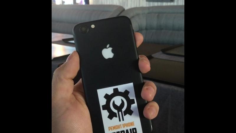 Переделываем IPhone 6 в IPhone 7! Светодиодный логотип Apple! Ремонт айфонов/IPhone на выезде Курск-