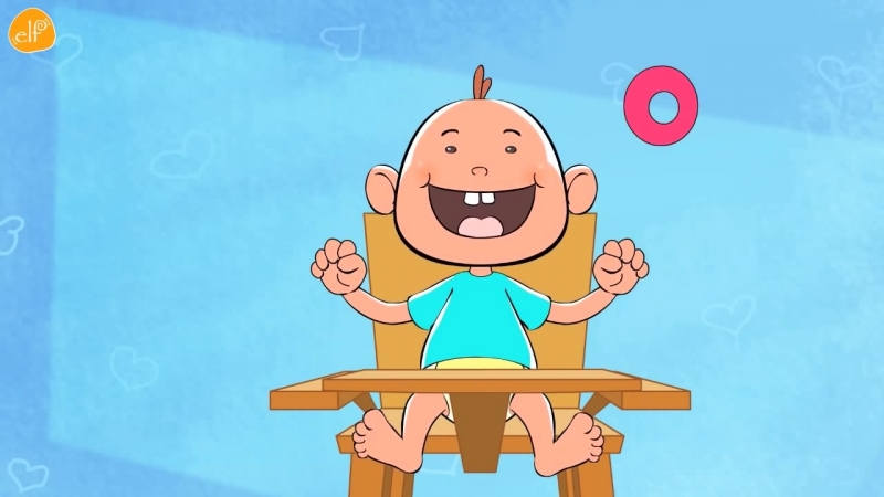 Counting Song for Babies and Toddlers - 0, 5, 10 (slow) by ELF Learning