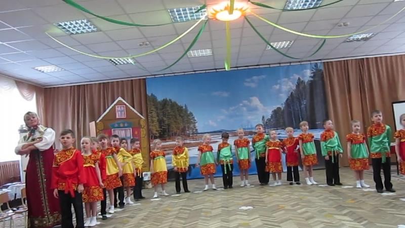MVI 9202мастер класс На завалинке в 23 детском саду 30 03 2018