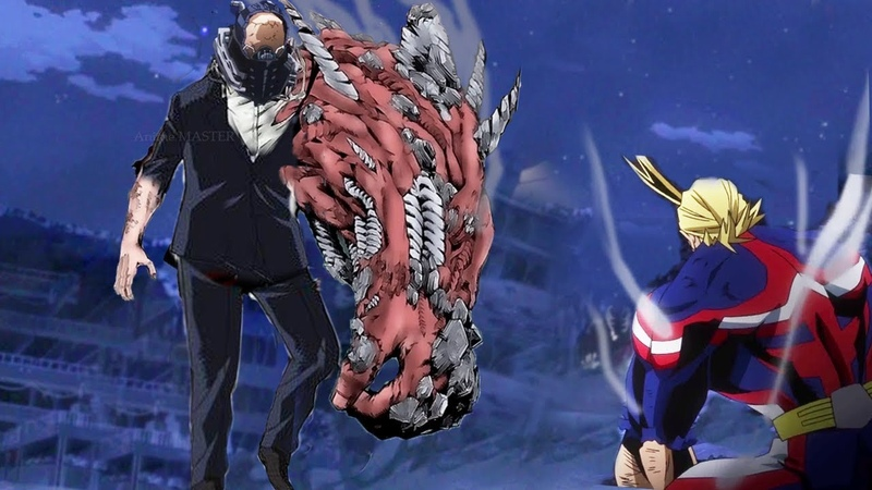 All Might vs All For One - Boku No Hero Academia season 3 AMV