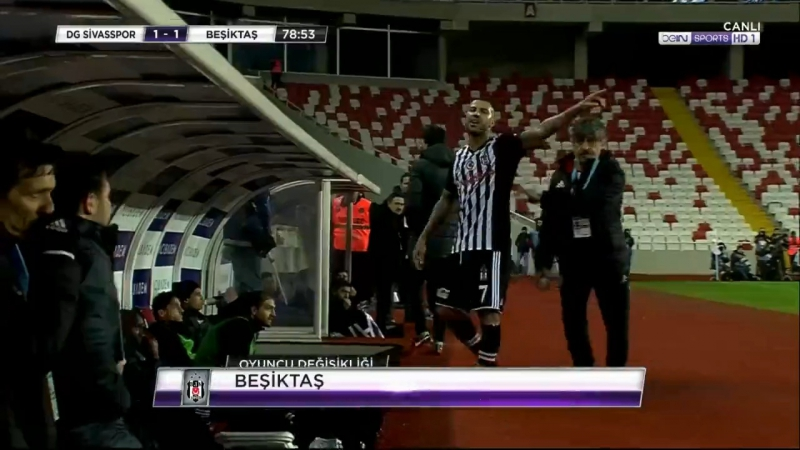 Ricardo Quaresma Vs Sivasspor A HD720 23 12 2017
