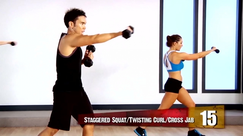 Mike Donavanik Total Body Interval Training Workout 2