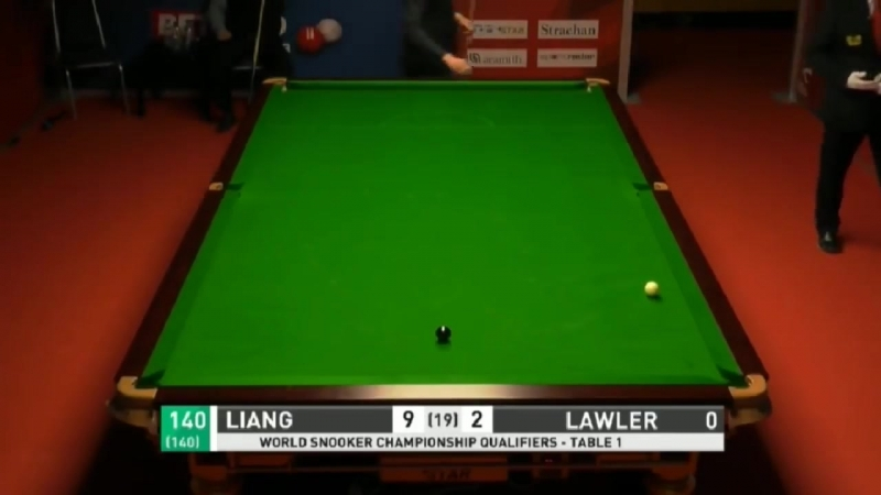 Liang Wenbo 梁文博 missed 2nd 147 in same MATCH on Final BLACK !
