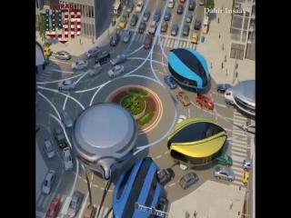 Гироскопический транспорт будущего.