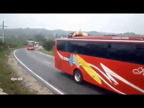 Crazy Overtake and Aggressive by Bus Drivers