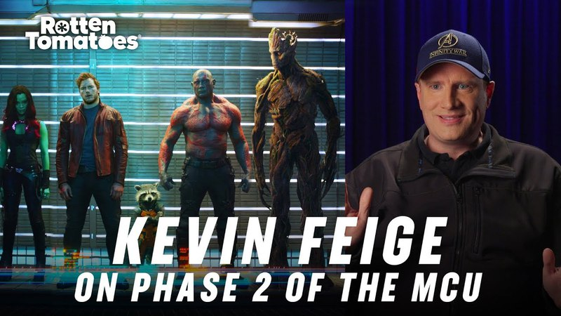 MCU Phase Two Marvel Studios President Kevin Feige Describes the MCU's Evolution | Rotten Tomatoes