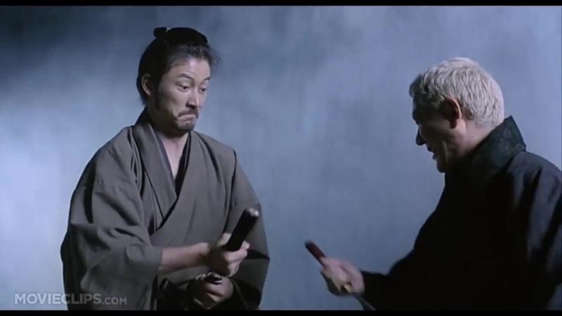Боевые сцены из Фильма Затойчи-2003 Такеши Китано