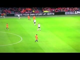 Holland 0-1 England Jesse Lingard