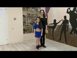 Флешмоб_Кира Бирюкова и её педагог Мария Дмитриева из г.Жуковский