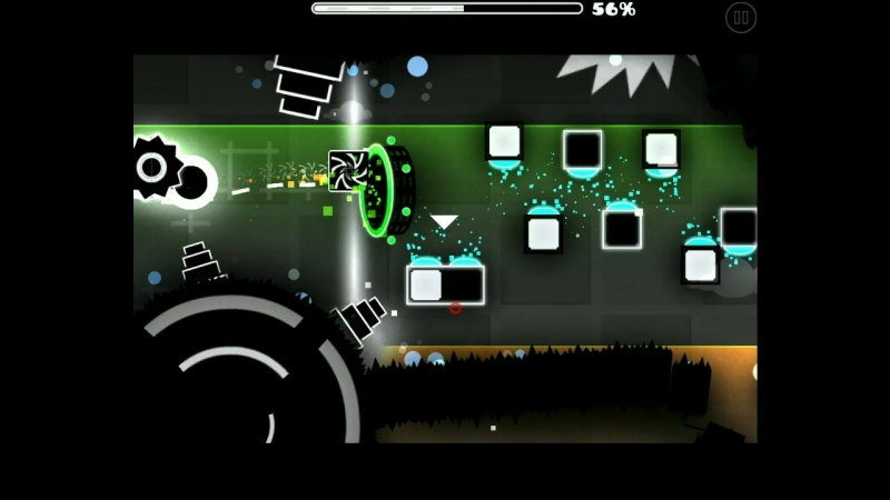 Geometry dash hot ice by IZHAR