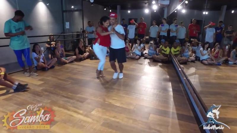 Baila Mundo - Kadu Vieira e Viviane Soares (Oficina do Samba Verão 2018)