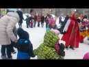 Даня учавствует в конкурсе Ворота на Масленице 18.02.18