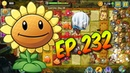 Plants vs. Zombies 2 || Shoot down the zombies with balls - Lost City Day 28 (Ep.232)