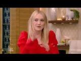 Dakota Fanning (THE ALIENIST) Complete Interview on Live with Kelly and Ryan