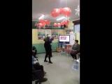 Ванда Медведева танец в Доме здоровья.