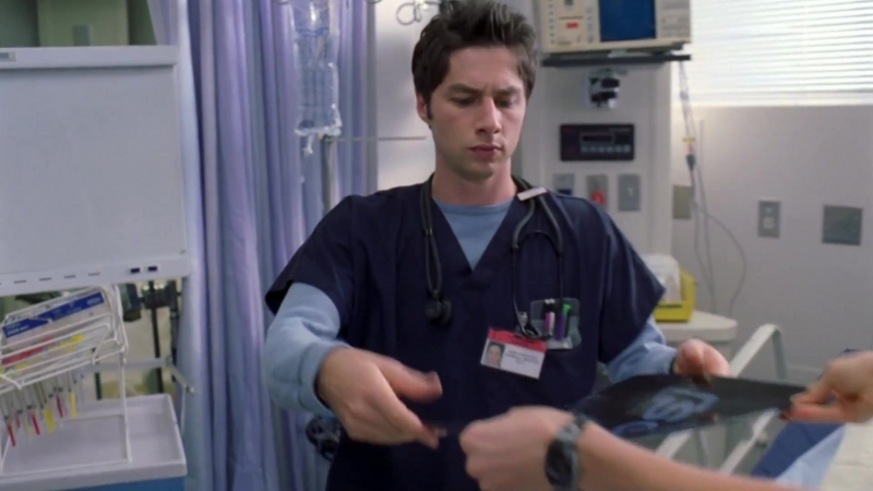 Клиника ⁄ Scrubs - заставка сериала