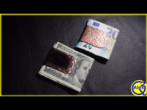 How to make Money Clips from a Copper Pipe | DIY