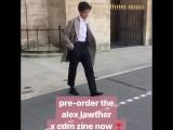 Alex Lawther x CDM