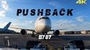 Boeing 787 Pushback 4K