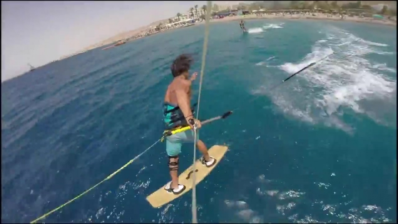 So cool to see Shoval Bohadana rippin the RedSea after recovering from a knee injury!