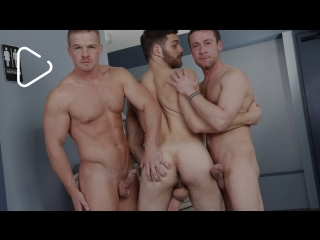 Men.com: liam magnuson, tommy defendi and trevor knight