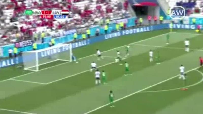 Arabia Saudita 2 1 Egipto Grupo A Fecha 3 Mundial Rusia 2018