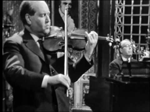 DAVID OISTRAKH LEV OBORIN: Beethoven Sonata No. 5. 2nd Mov.