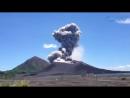 Папуа Новая Гвинея  Tavurvur Volcano In East New Britain Papua New Guinea Erupted