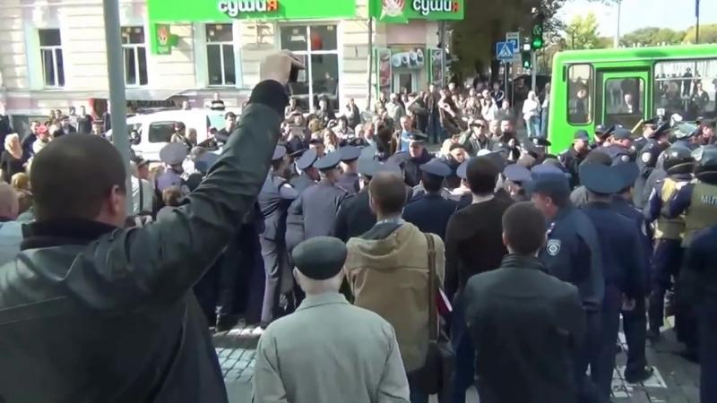 Душевно Харьков город который предали Харьков Антимайдан Новороссия 29 09 2014