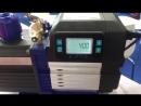 Вакуумный насос с встроенным манометром цифр