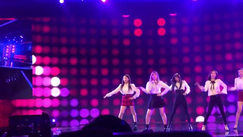 171124 fancam Dumb Dumb Red Velvet @shilla beauty concert in Singapore