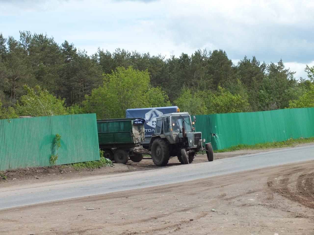 Мусорный трактор, Чайковский, 2018 год
