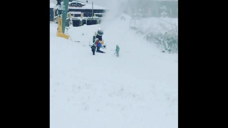Сочи Снег Красная поляна 24 11 2017