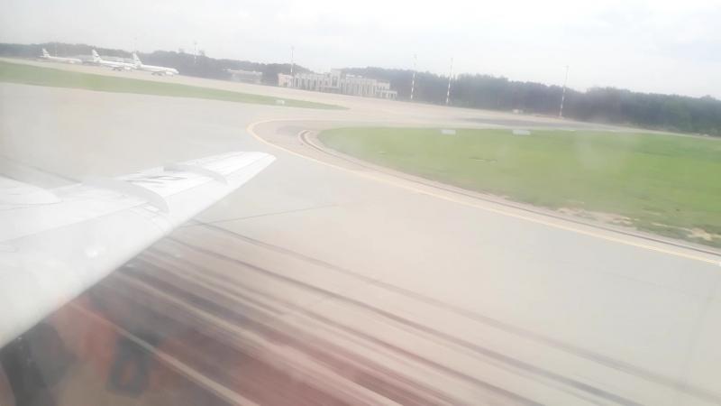 Полёт на Свистке к Ту-144 - подход к Внуково,заход,выпуск шасси,посадка,руление