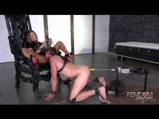 [femdomempire] adriana chechik - oral fuck slave [2018 г., femdom, humiliation, pussy worship, anal play, fm, 1080p]