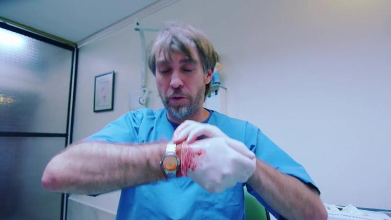 Как пациентка видит стоматолога. Испаноязычный ролик. Юмор.
