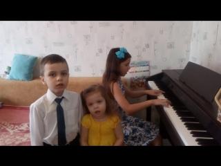 Крейсер Аврора. Головизины Саня, Ваня и Таня.