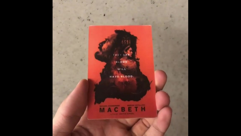 macbeth blood will have blood The latest version of macbeth is stunningly cinematic and vehemently scottish.